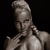 Model: Kandice Lynn, MUA: Cassandra Ward, Pink & White
