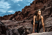 Red Rock Canyon Fitness Shoot