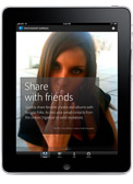My images appeared in the 1st native iPad version of Photoshop Express from Adobe - Model Stevie Lynn