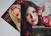 Ambassador Magazine Spring 2013 Feature - Perfect 10 - Model: Amber Berry, MUA: Renata MUA