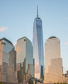 One World Trade Center refers to the main building of the new World Trade Center complex in Lower Manhattan, New York City. It is the tallest skyscraper in the Western Hemisphere, and the fourth-tallest in the world.