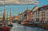 Nyhavn HDR - Copenhagen